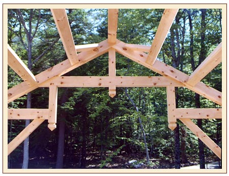 Custom Timber Frames for Houses, Barns, and Other Buildings by Andy Buck